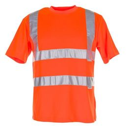 Planam Warnschutz T-Shirt uni-orange 2095
