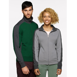 Hakro Sweatjacke Contrast Performance 477